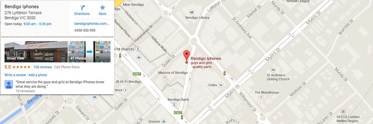 google_map_1200_bendigo_iphones_screen_repairs