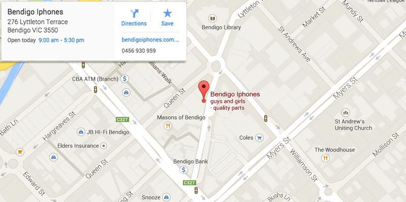 google_map_800_bendigo_iphones_screen_repairs